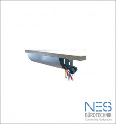 NES BueroTechnik Cable Pipe eco1