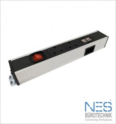 NES BueroTechnik PDU 1U/R19