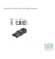 Wieland GST18i3 Male Connector