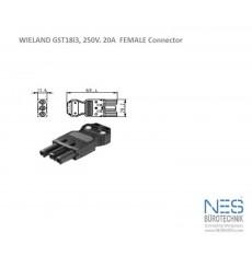 Wieland GST18i3 Female Connector