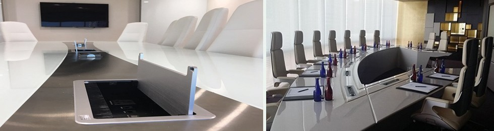 Meeting Table Connectivity Systems